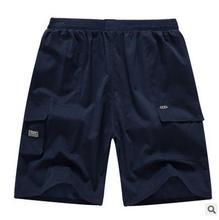Mens Cargo Shorts Casual Cotton Multi Pocket Summer Man Short Pants Military Big Size 2017 Brand cotton Loose Shorts Men Wicking