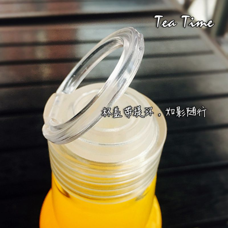 Hot fashion 450ml my water bottle Portable bottles plastic botle personality student bootle sport drinking botella de agua