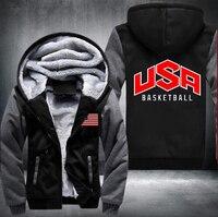 USA American Flag Hoodies Sweatshirt Thicken Men S Hoodies Thicken Fleece Winter Outdoor Hoodies Sweatshirt Warm