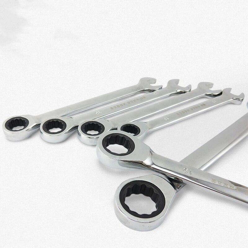 Zestaw kluczy płasko-oczkowych z grzechotką Narzędzia ręczne - Narzędzia ręczne - Zdjęcie 2