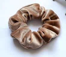Free Shipping women's winter velvet hair Scrunchies Hair Tie Hair Accessories Ponytail Holder Hair
