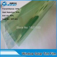 Toptan 1.52 m x 30 m ısı yalıtım UV IR ret güneş araba pencere tonu filmler buillding cam cilt koruma