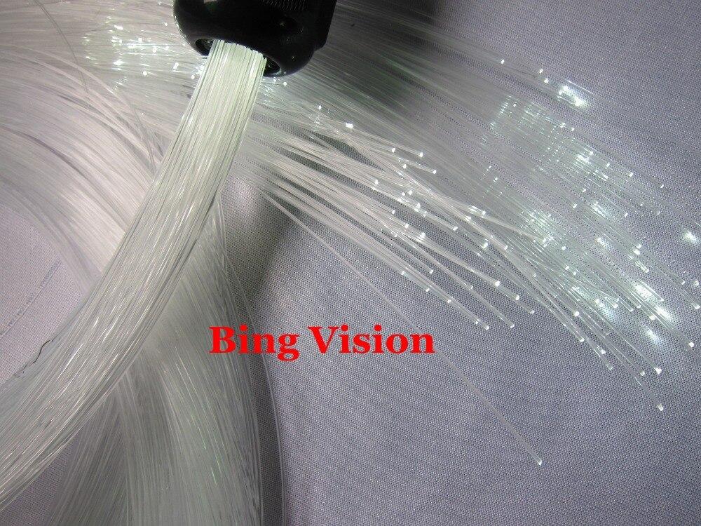 Promotion , super bright 500 pcs x0.5mm plastic fiber  x 4meter   Pure white color led fiber optic star ceiling kit