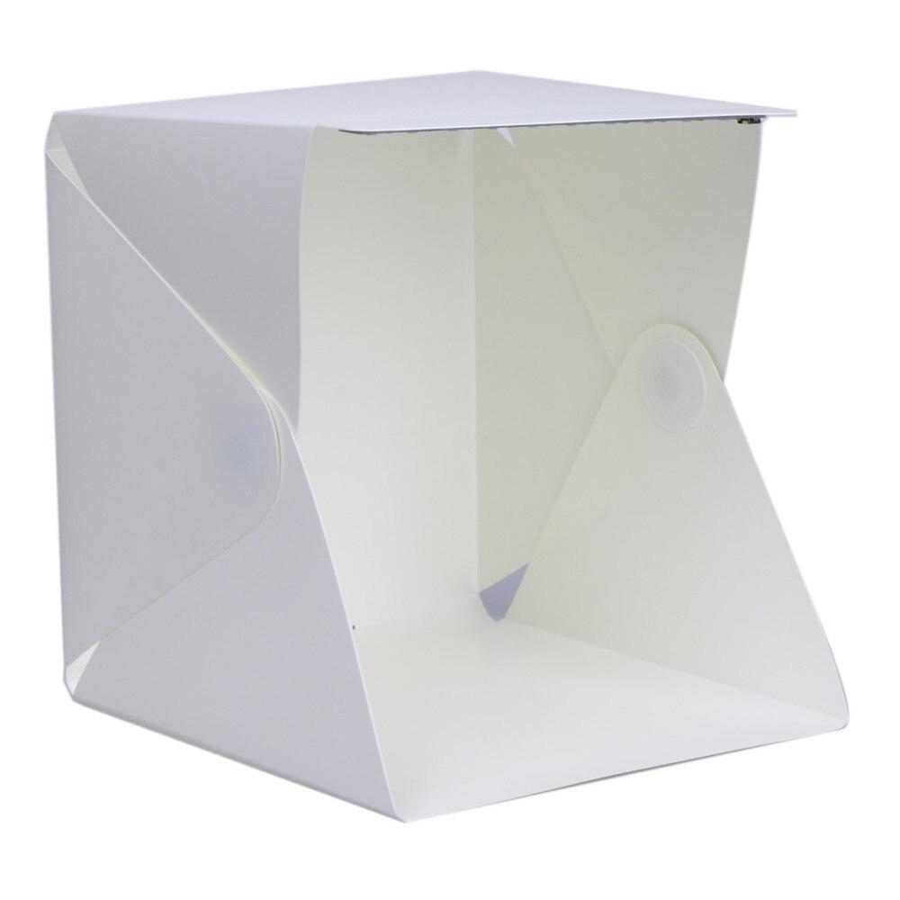 Portable Mini  photo Lightbox LED Studio Folding Light softbox Room Photography for iPhone Samsang huawei DSLR Camera