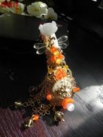 2 Colors Jade Pipa Chinese Music Intrument classical hanfu accessories Pinchcock Hair Pin Bride Wedding Hair jewelry