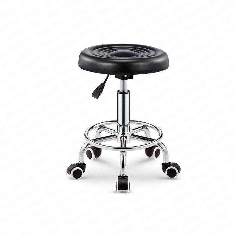 Tabouret de Bar rotatif ascenseur maison haut tabouret mode créative beauté tabouret barbier chaise pivotante minimaliste moderne métal tabouret Dotomy