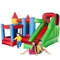 Yard combo inflable castillo hinchable con tobogán piscina de bolas uso doméstico trampolín parque oferta especial para la zona caliente