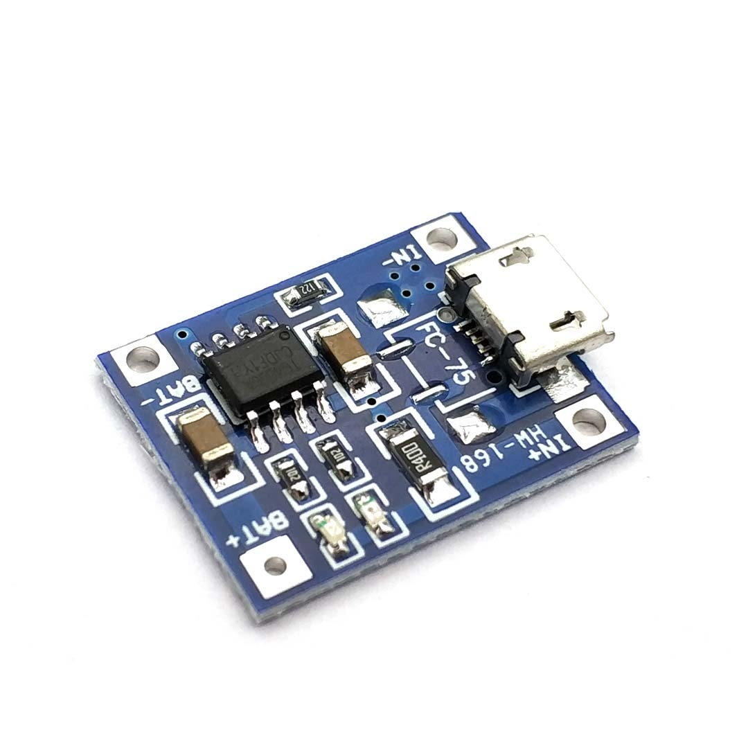TP4056 1A MICRO Port Mike USB Lipo Battery Charging Board Charger Module Lithium Battery DIY