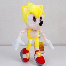 Nova mosca amarelo super sonic pelúcia macio boneca animais de pelúcia crianças brinquedos crianças 13 Polegada presente