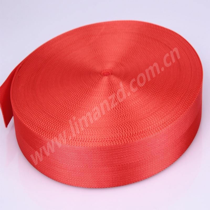 1,5 palcová jasně oranžová rybí páska na popruh na tašku, - Umění, řemesla a šití