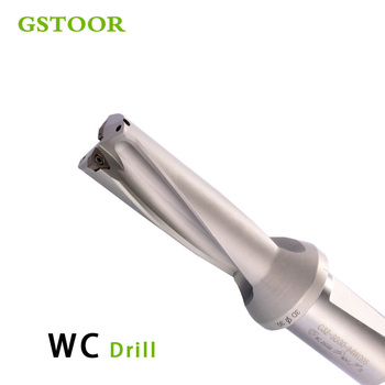 WC C40 SD40.5 41MM 42MM 43MM 44MM 45MM 5D U Drilling Shallow Hole indexable insert drills Fast Drill Bit CNC For WC Type Inserts
