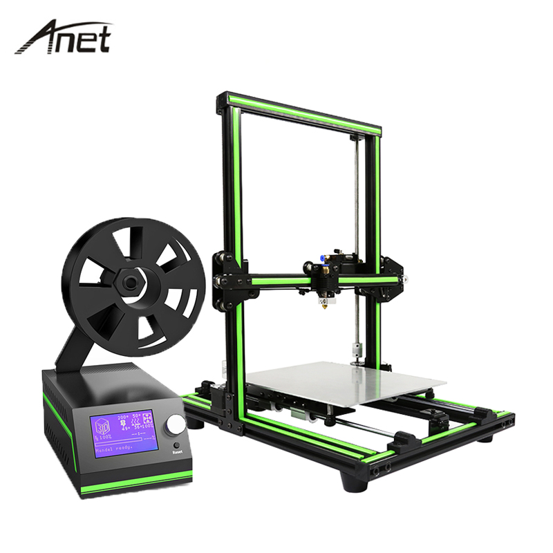 2017 Anet Aluminum Frame E10 3D Printer High Precision Reprap Prusa I3 DIY 3D Printer Set