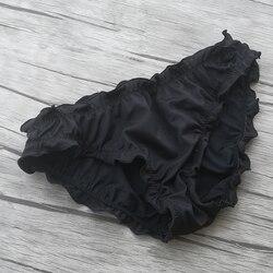Женские плавки-бикини с низкой талией для девочек, купальник для плавания, черный бикини, бразильские плавки, сексуальный купальник, плавки-... 3