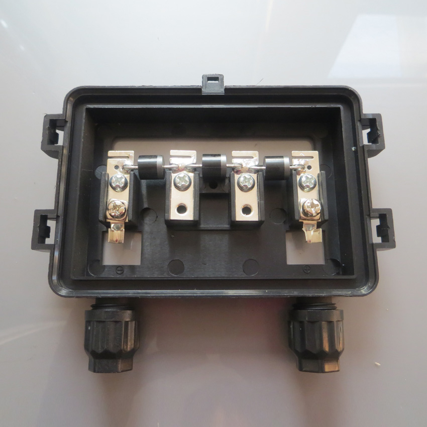 Hot Sale 140W 200W Solar Junction Box waterproof IP67 for Solar Panel connect PV junction box