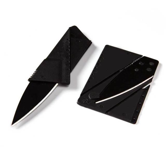 Kredi kartı bıçak mini cüzdan açık pocket knife avcılık kamp mutfak el aracı bıçak sharp taşınabilir survival katlanır bıçak