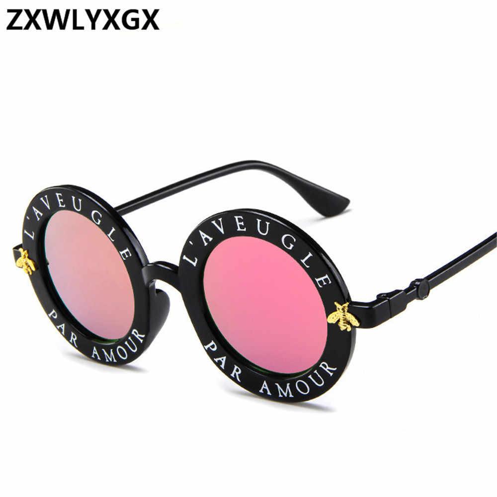 f618768477da Zxwlyxgx 2018 новый стиль дизайн круглые солнцезащитные очки обувь для  мужчин и женщин модные очки популярные