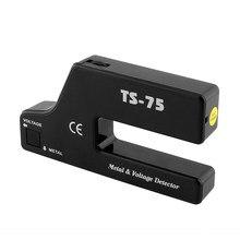 TS-75 Hand Held Metal Voltage Detector Elektrische Kabel Pijp Draad Detecteren Diepte Tracker Detector Van Pijpleidingen Verborgen Bedrading Finder
