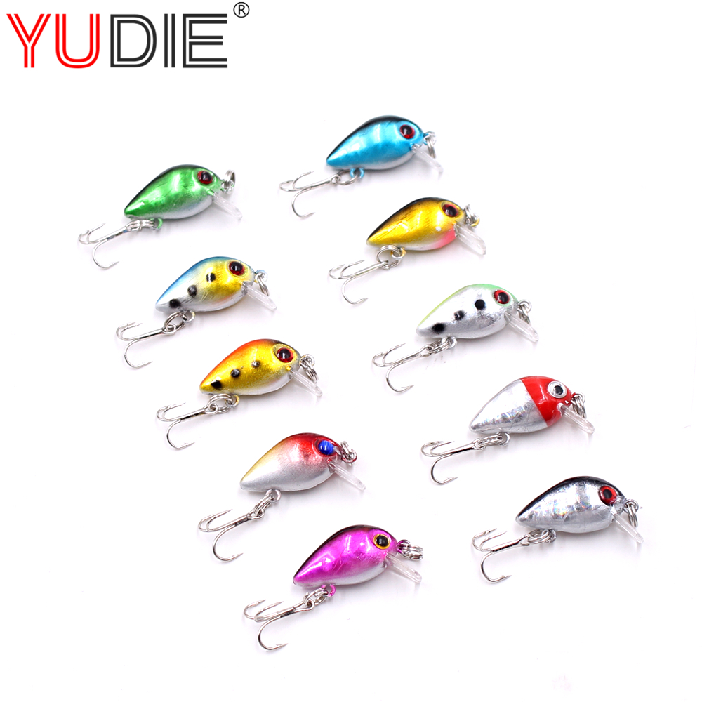 3cm 2g Mini Top Water Crank Hard Lure For Sea Carp Fly Fishing Spinner Bait Accessories Jig Hooks Tool Wobblers Fish Sport lures goture ice fishing baits metal jig drop jig grub spoon 0 6 6 2g hard artificial bait carp fishing accessories lure box 40pcs