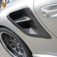 Full Carbon Fiber Side Vents Air Intake For Porsche 997 Turbo Carrera 2005 2006 2007 2008 2009 2010 2011 2012 Car Styling