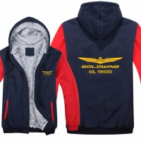 Goldwing GL1800 Hoodies Men Fashion Wool Liner Jacket Goldwing Sweatshirts Hoody HS 009