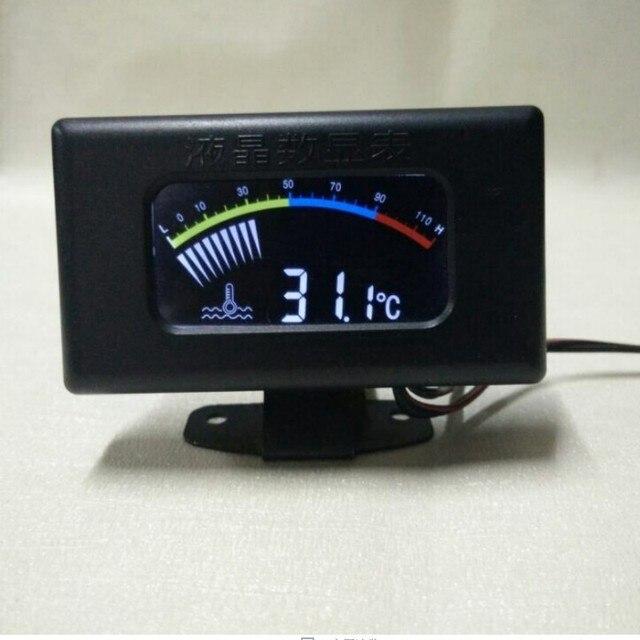 car motorcycle Water Temp Gauges led shining water temperature gauge