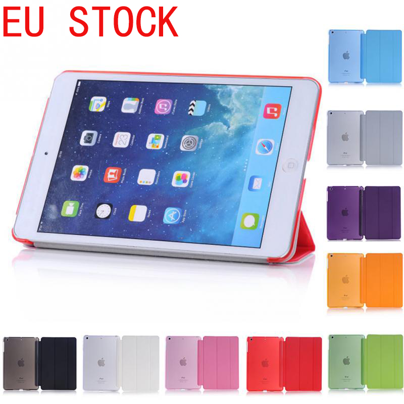 EU STOCK  Ultra Slim Magnetic Smart Flip Stand PU Leather Cover Case For Apple iPad Mini 1 2 3 Retina intellectual dormancy eu stock ultra slim magnetic smart flip stand pu leather cover case for apple ipad mini 1 2 3 retina intellectual dormancy