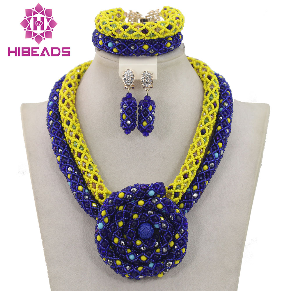 Fabulous Yellow and Blue Women Costume Jewelry Set Bridesmaid Chunky Pendant Statement Necklace Set Hot Free Shipping WD778Fabulous Yellow and Blue Women Costume Jewelry Set Bridesmaid Chunky Pendant Statement Necklace Set Hot Free Shipping WD778
