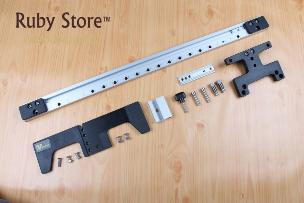 750mm Guide for Dowelling Jig for Furniture Fast Connecting Cam Fitting with 90 Degree Elements