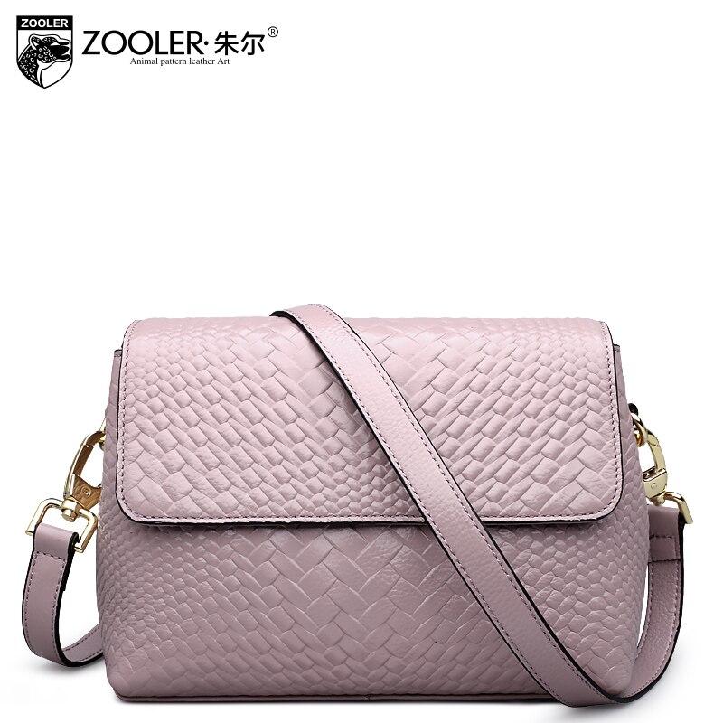 ФОТО ZOOLER 2017 hot cowhide women messenger bags handbag women bag genuine leather shoulder bag bolsa feminina hot #6152