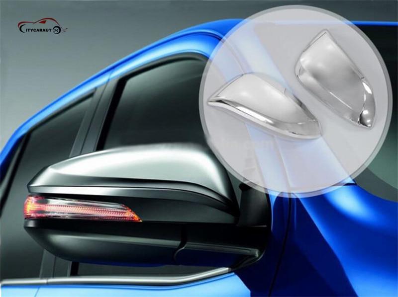 CHROME espelho retrovisor capa espelho retrovisor hilux espelho luzes - Peças auto - Foto 2