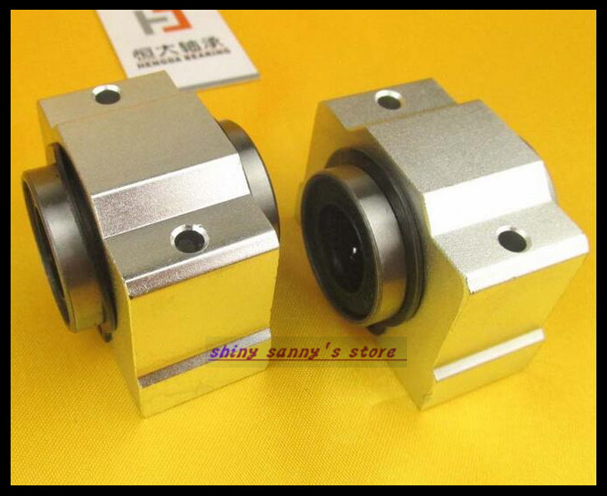 2Pcs/Lot SCV12UU SCV12 Linear Bearing Block DIY Linear Slide Bearing Units CNC Router Brand New free shipping sc16vuu sc16v scv16uu scv16 16mm linear bearing block diy linear slide bearing units cnc router