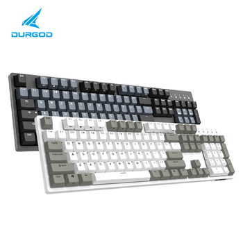 durgod 104 taurus k310 mechanical keyboard using cherry mx switches pbt doubleshot keycaps brown blue black red silver switch 2