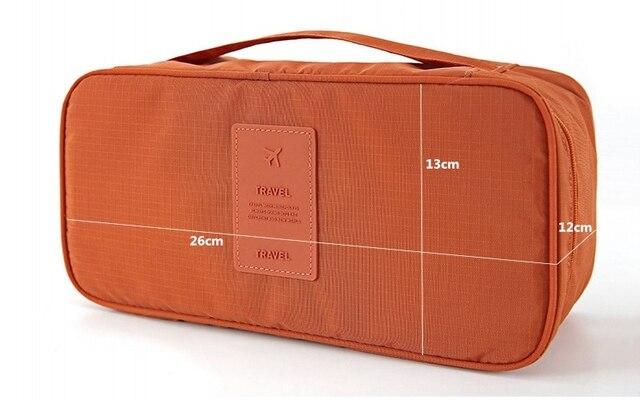 Bra Underwear Travel Bags Suitcase Organizer Women Travel Bags Luggage Organizer For Lingerie Makeup Toiletry Wash Bags pouch 1
