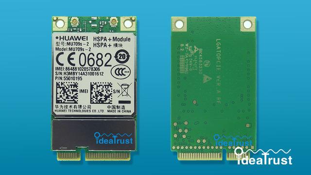 Brand new MU709s-2 MU709 Mini PCIe UMTS/HSPA + 900/2100 MHz 3G WAN Cartão de Rede sem fio