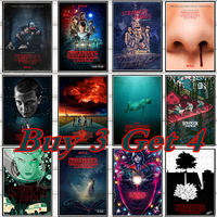 Season 2 Sci Fi Stranger Things Horror coated paper Poster Decorative Wall Paper Posters Home Decor