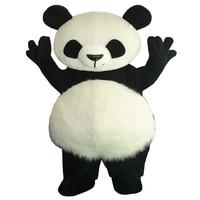 High Quality Cute Panda Bear Mascot Costume Fancy Party Dress Free Shipping