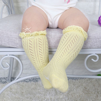 0-3 Years New Breathable Summer Baby Socks Cotton Knee High for Newborns Boys Girls Kids Infant Childrens Socks Bebe Clothes 3