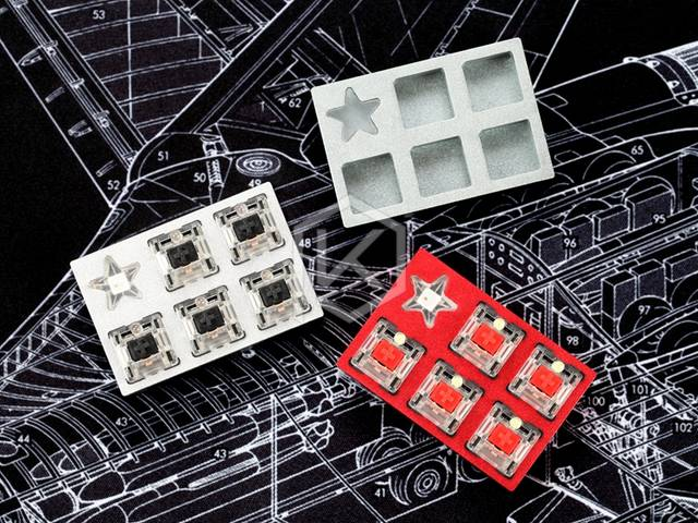 Staryu Mini Macro Pad custom keyboard by tkg kai Mini macro pad mechanical  keyboard 5 keys