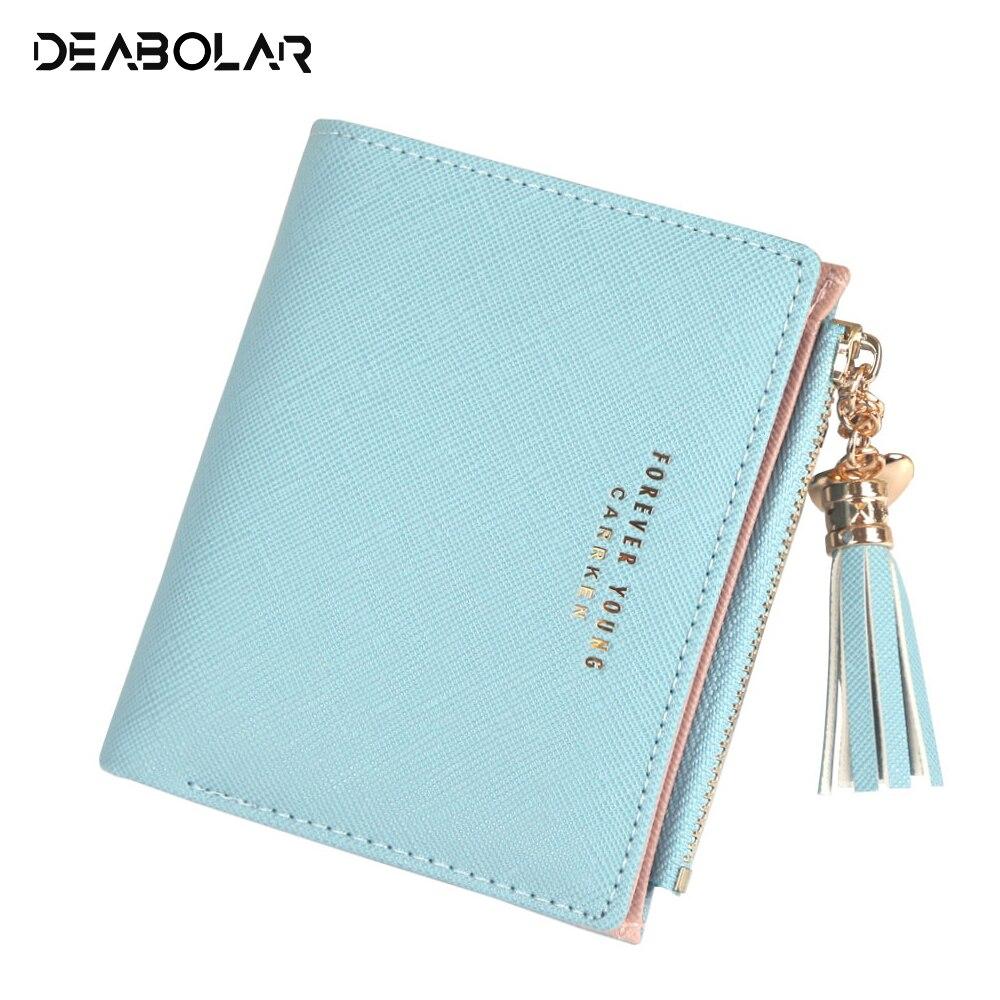 Frauen Brieftasche schöne Kurzen absatz Zipper Haspe Geldbörse Kleine Kupplung Mode schnalle PU Weibliche Brieftaschen Karte Halter Geldbörse