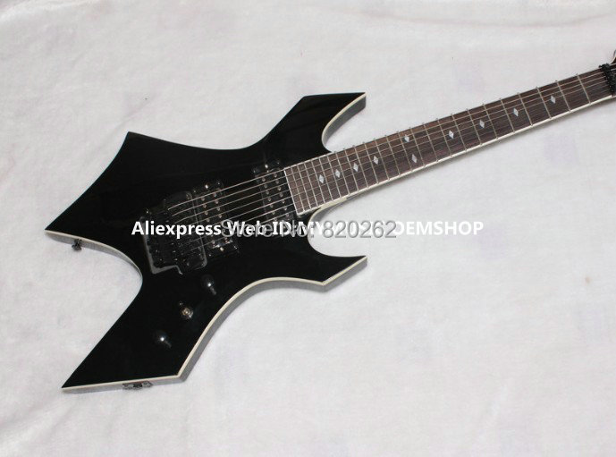 wholesale guitars newest black 7 strings bc rich electric guitar best free shipping in guitar. Black Bedroom Furniture Sets. Home Design Ideas