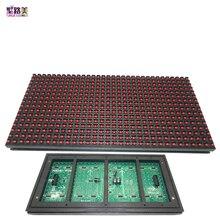 P10 Светодиодный модуль-панель для дисплея окна вывеска магазин вывеска дверь IP65 320*160 мм 32*16 пикселей RGB Полноцветный/одноцветная матрица DIY