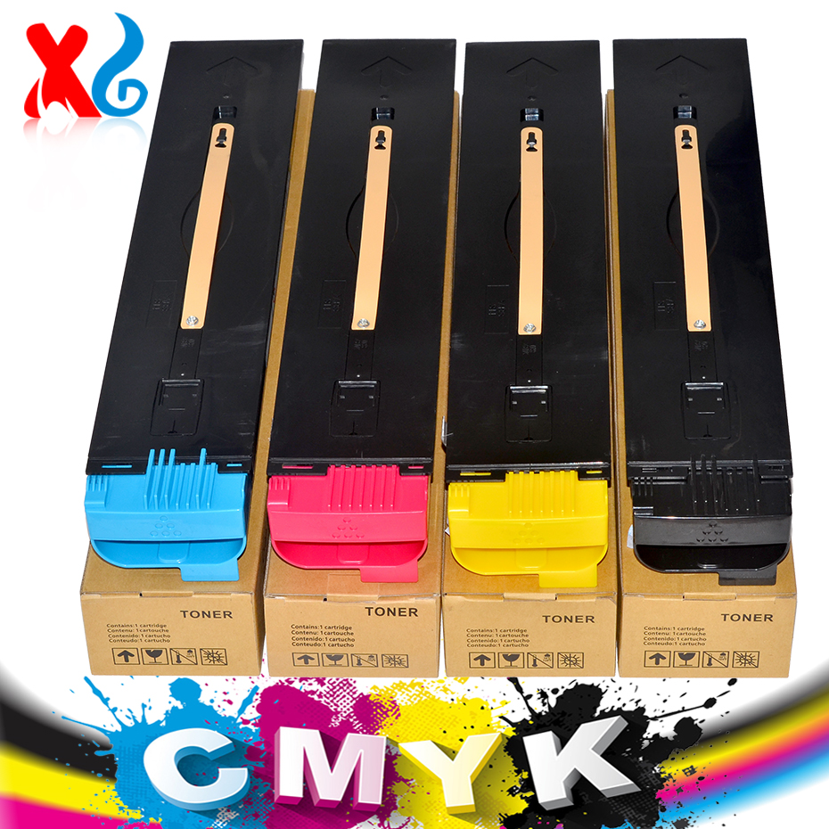Toner Cartridge for Xerox Docucolor 700 700i C700 Digital Color Press J75 C75 Photo Copier Machine without Chip Toner Cartridge 700i toner chip for xerox 700 700i digital color press chip cyan yellow black magenta cartridge chip free shipping