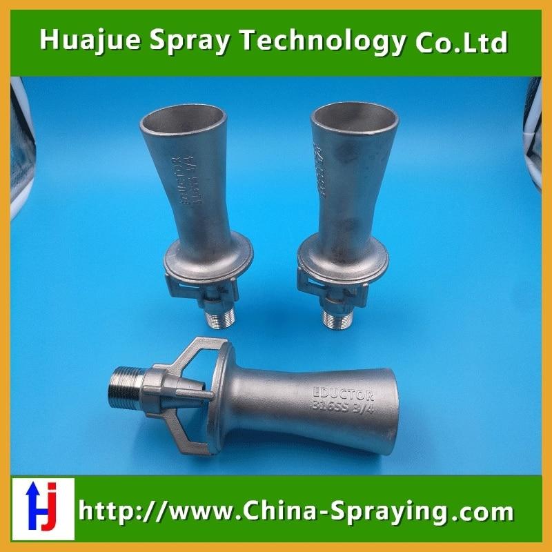 Quot bspt stainless steel eductor venturi nozzle epoxy
