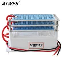ATWFS 15 г очиститель воздуха генератор озона 220 В Ozono очиститель воздуха домашний Ozonizador Озон озонатор homecare дезодорирование стерилизация