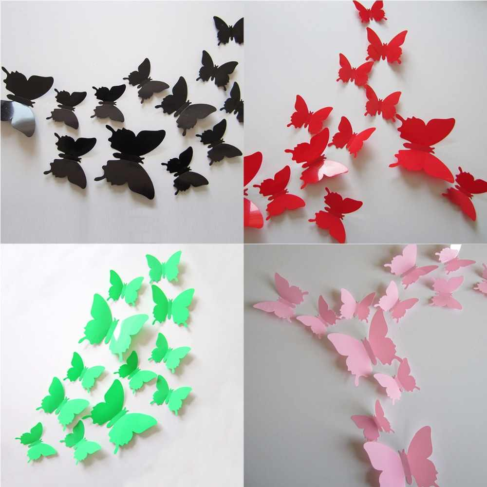 27 Wonderful Picture of Origami Decoration Wall | Paper butterfly ... | 1000x1000
