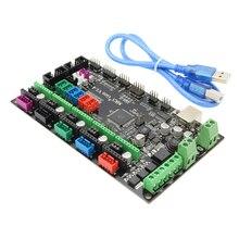 ANYCUBIC 3D управления принтером доска V1.4 МКС-Gen слоев PCB ПЛАТЫ контроллера интегрированы материнскую плату для 3d-принтер