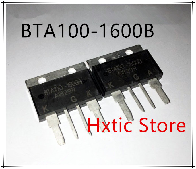 2pcs BTA100-1600B BTA100-1600 BTA1001600B BTA100 1600B 100A/1600V New And Good Quality