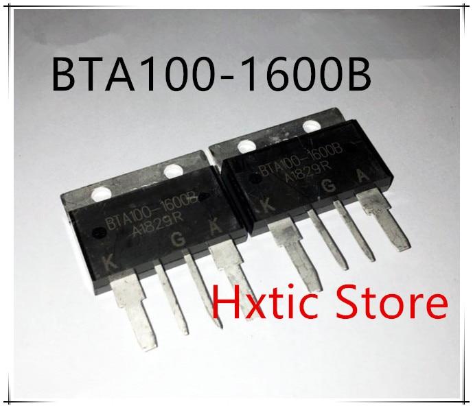 2pcs BTA100-1600B BTA100-1600 BTA1001600B BTA100 1600B 100A/1600V New And Good Quality