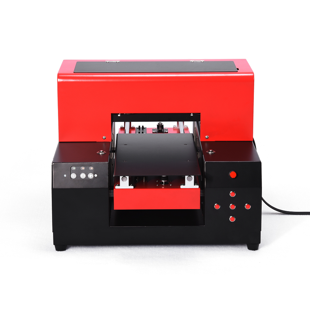 2018 New Automatic A4 size 6 Color UV Printer Printing machine A4 UV flatbed printer for Phone case/ leather/Glass Metal/ PVC 6 color a3 size uv printer phone case printer led uv flatbed printing machine r1390 a3 uv printer for phone case acrylic metal