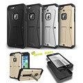 Роскошные 3in1 Гибридный Броня Защитный Чехол Для iphone 6 6 s Plus SE 5S Сэм S6 S7 КРАЙ Противоударный Держатель Стенд Телефон Случаях Бесплатные корабль